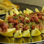 fat med melon og spekeskinke
