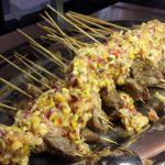 grillspeed med kjøtt